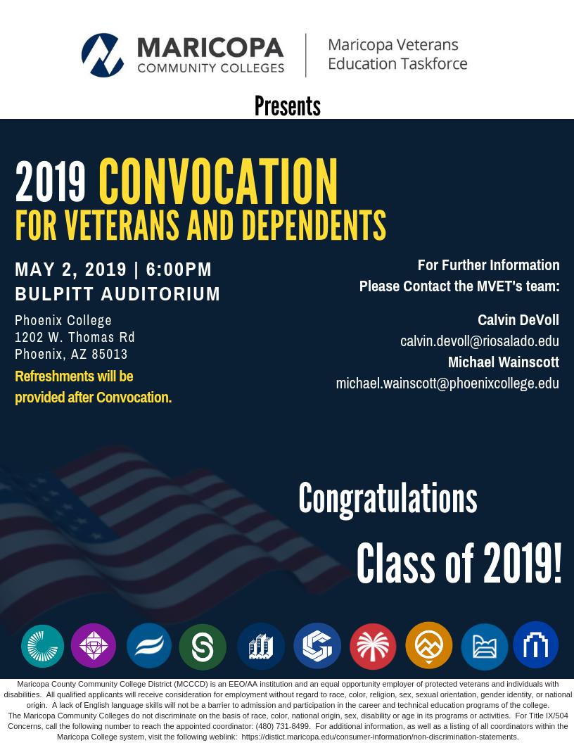 Veterans Convocation